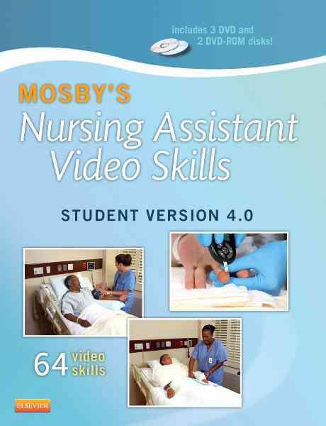 Mosby's Nursing Assistant Video Skills By Mosby (COR)